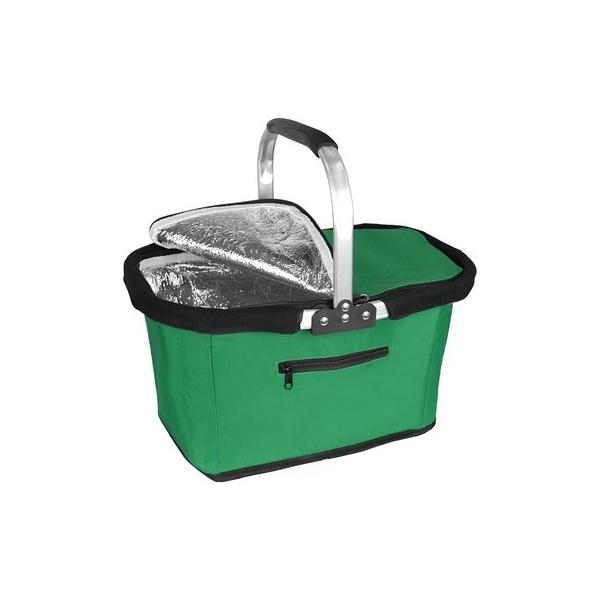Koszyk poliestrowy, składany, torba termoizolacyjna