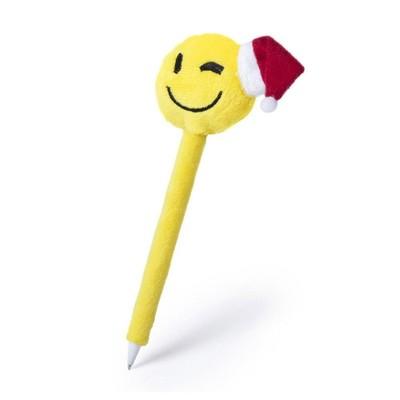 """Świąteczny długopis """"uśmiechnięta buzia"""""""