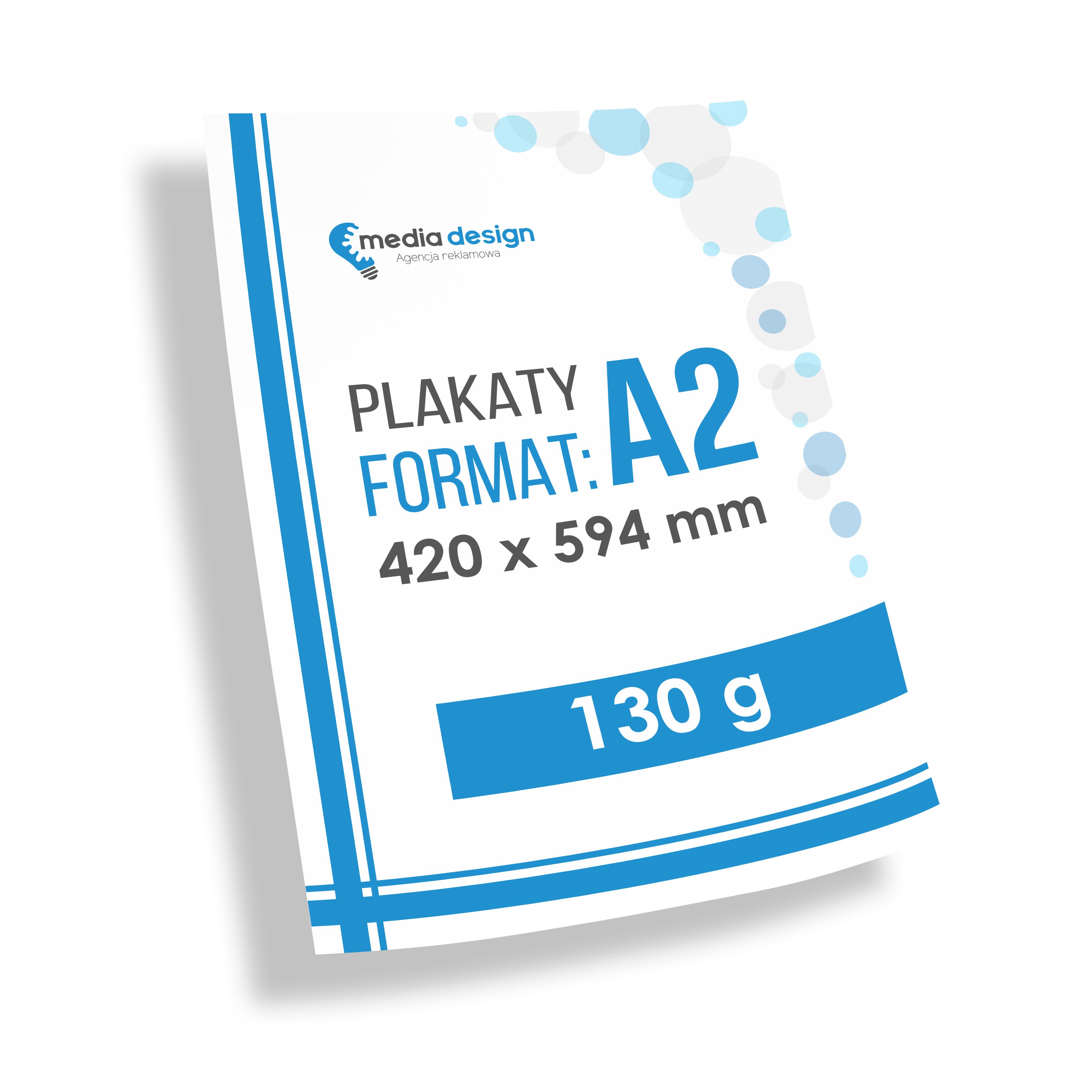 Plakaty A2 (420x594 mm) - 130g