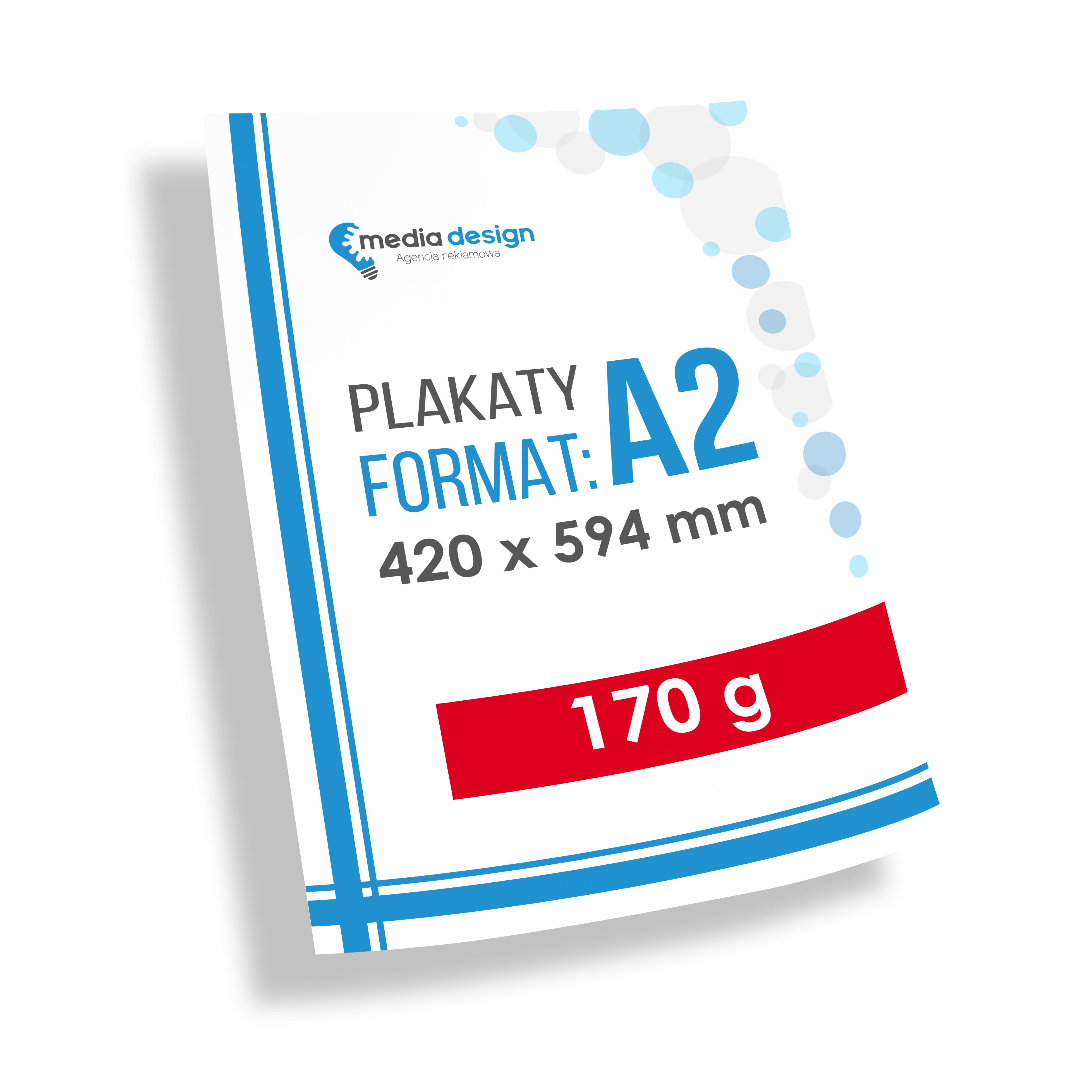 Plakaty A2 (420x594 mm) - 170g