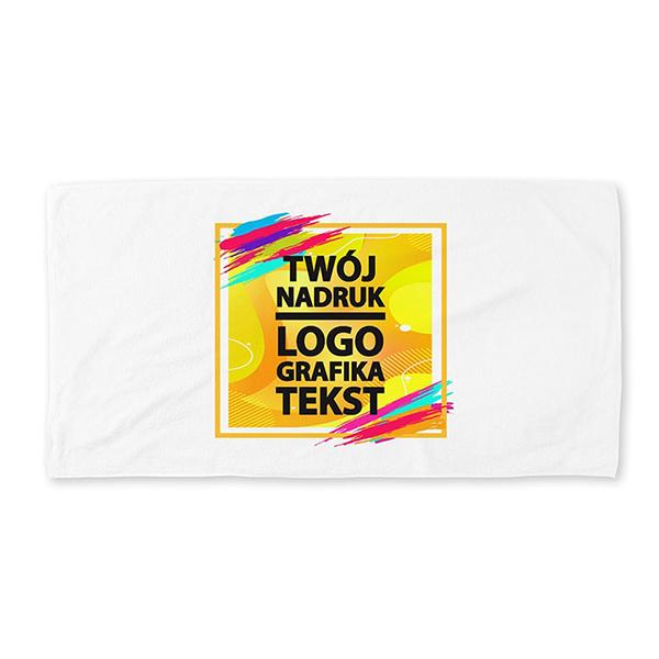 Ręcznik kąpielowy 91 x 182 cm z nadrukiem
