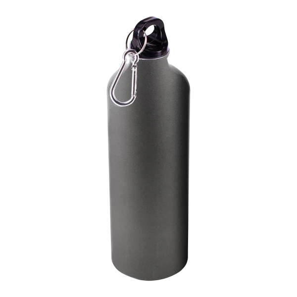 Bidon aluminiowy Tripper 800 ml, grafitowy