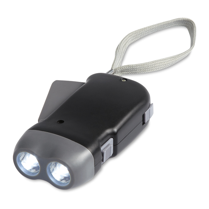 Latarka LED.