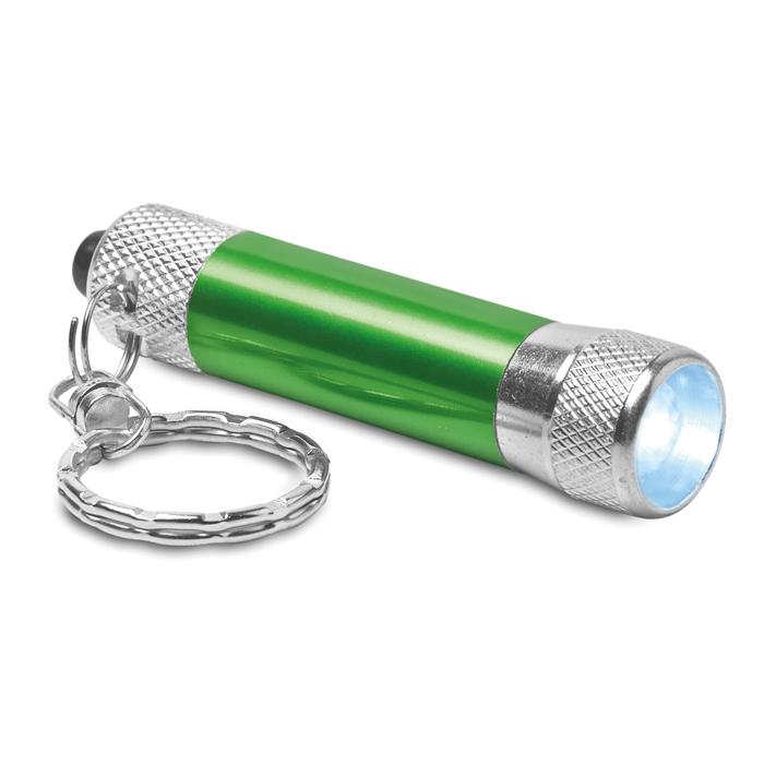 Aluminiowy brelok latarka