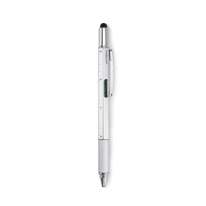 Długopis poziomica z liniją i