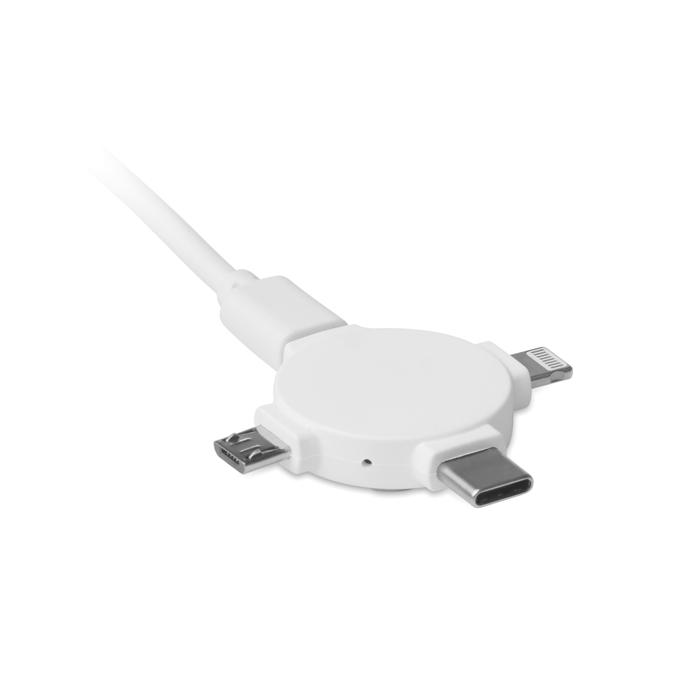 Adapter d kabli 3w1