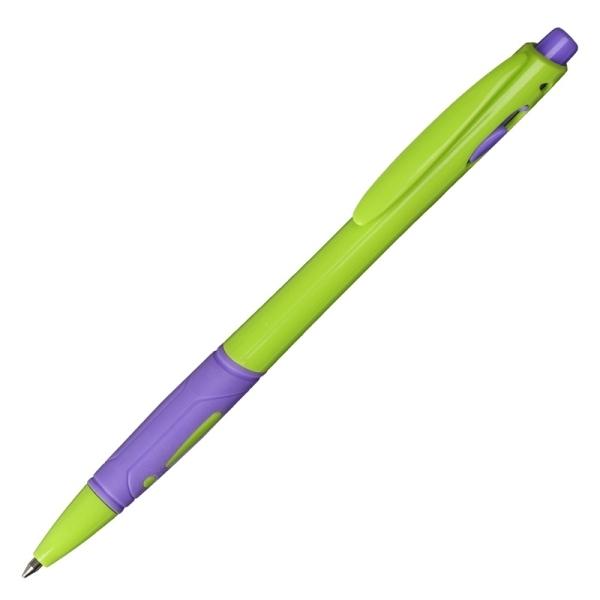 Długopis Azzure, niebieski/żółty