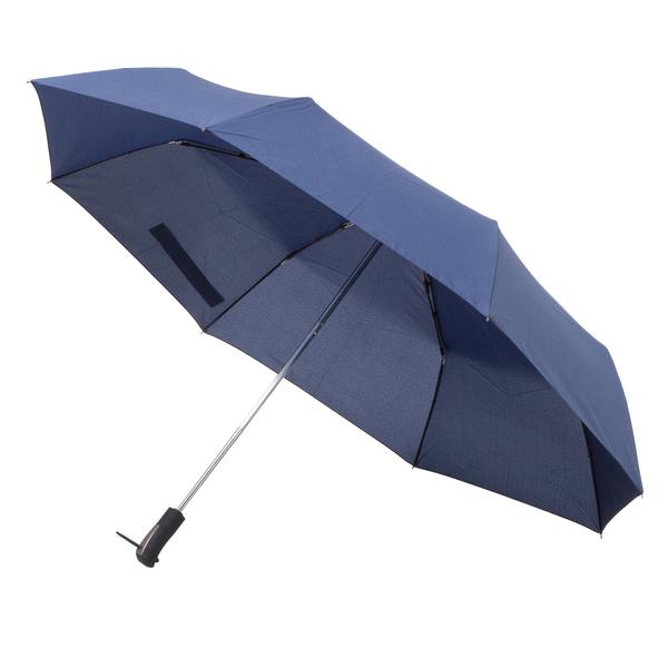 Składany parasol sztormowy Vernier, czarny