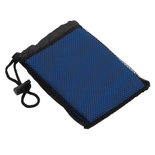 Ręcznik sportowy, niebieski