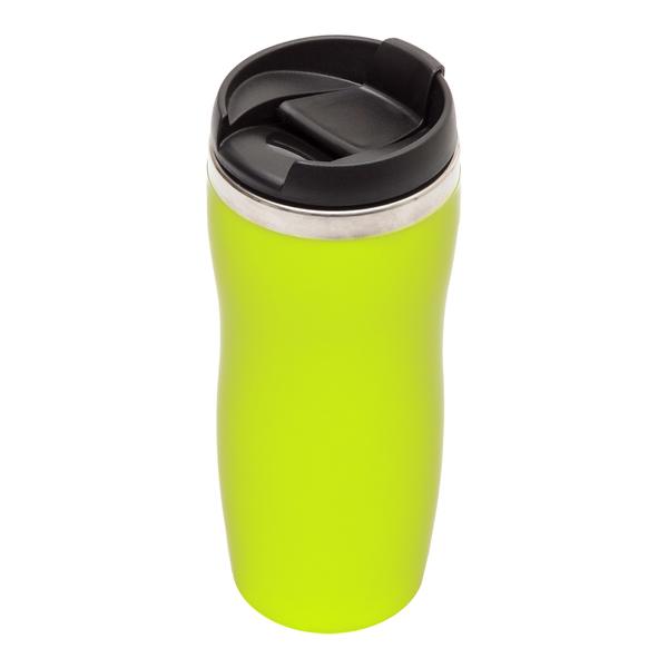 Kubek izotermiczny Skien 350 ml, zielony