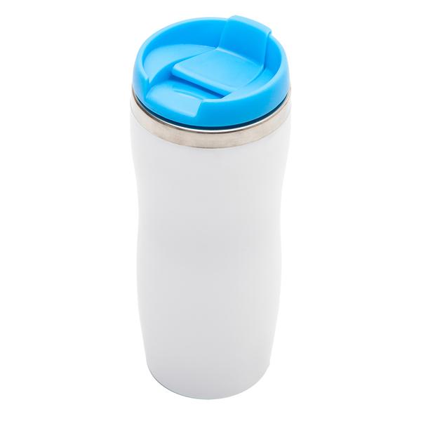 Kubek izotermiczny Askim 350 ml, niebieski