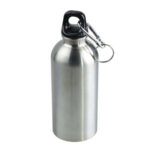Stalowy bidon Safe Tripping 400 ml, srebrny