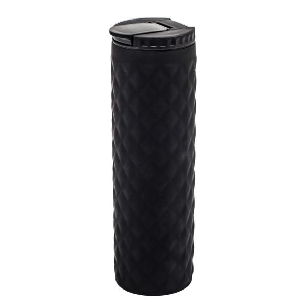 Kubek izotermiczny Tallin 450 ml, czarny
