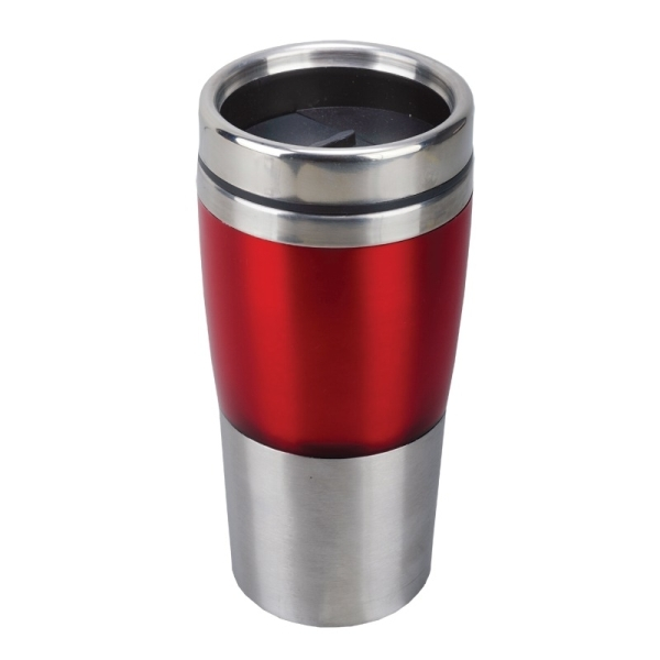 Kubek izotermiczny Resolute 380 ml, niebieski/srebrny