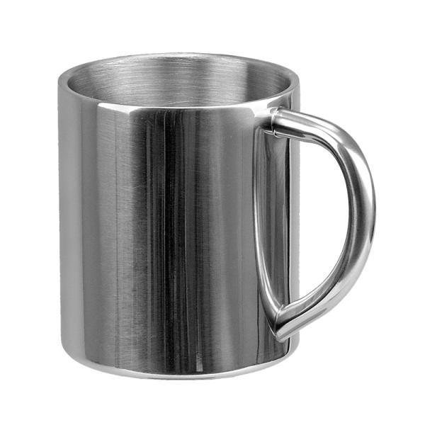 Kubek Sturdy 240 ml, srebrny