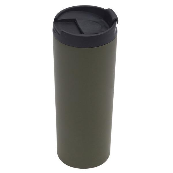 Kubek izotermiczny Inari 450 ml, ciemnozielony