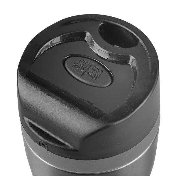 Kubek izotermiczny Winnipeg 350 ml, srebrny