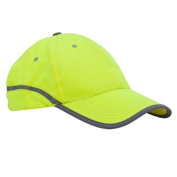Czapka odblaskowa Be Active, żółty