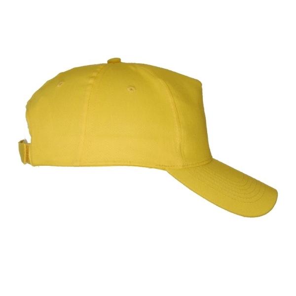 Czapka z daszkiem Coimbra, żółty