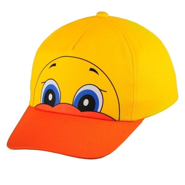 Czapka dziecięca Ducky, żółty