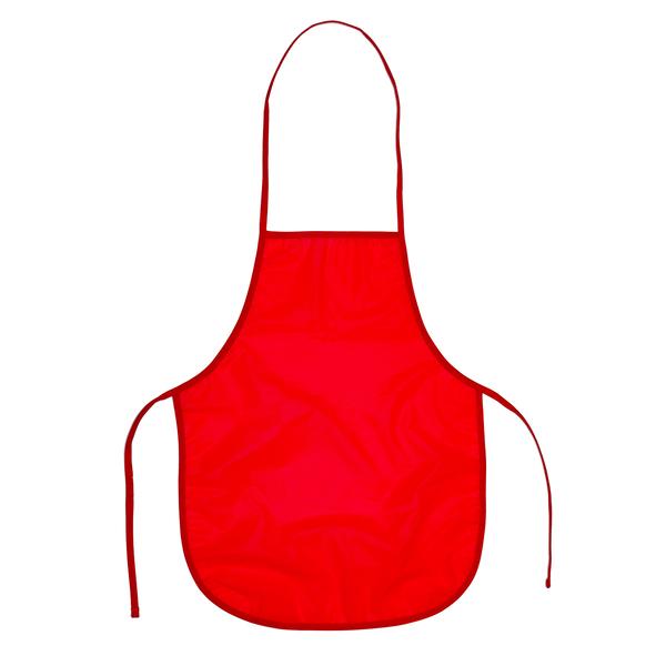 Fartuszek dla dzieci KeepTidy, czerwony