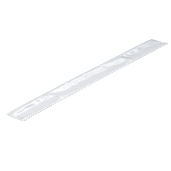 Opaska odblaskowa 45 cm, srebrny