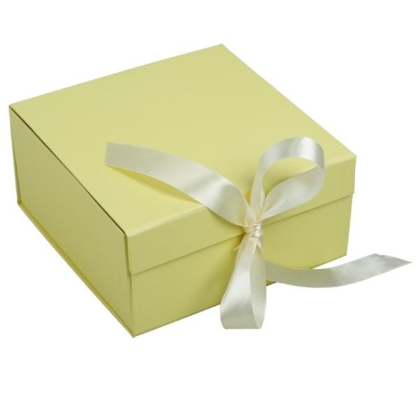 Składane pudełko na prezenty, beżowy