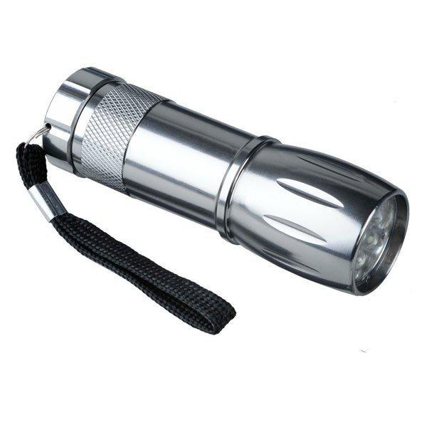 Latarka Spark LED, srebrny