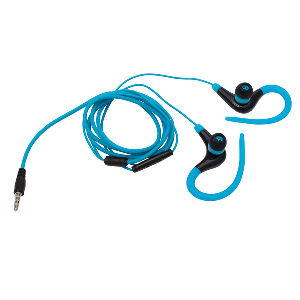 Słuchawki Sporty, jasnoniebieski/czarny
