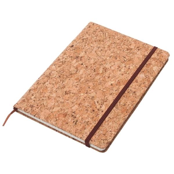 Notatnik 145x210/80k kratka Robledo, brązowy