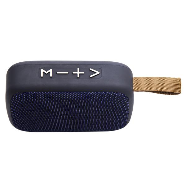 Głośnik Music Plunge z radiem FM, niebieski