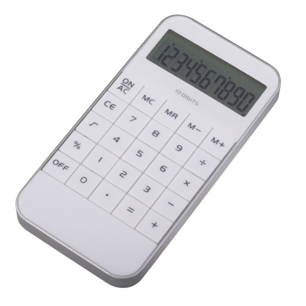 Kalkulator Lucent, biały