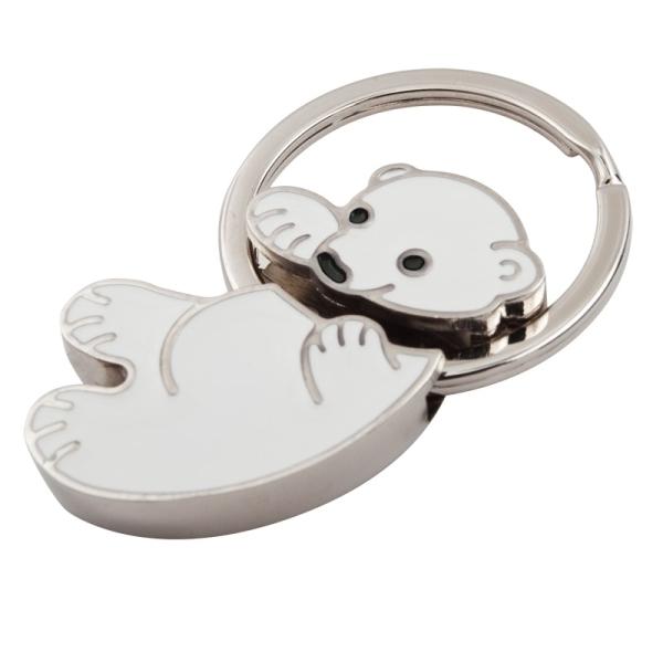 Brelok Polar Bear, biały