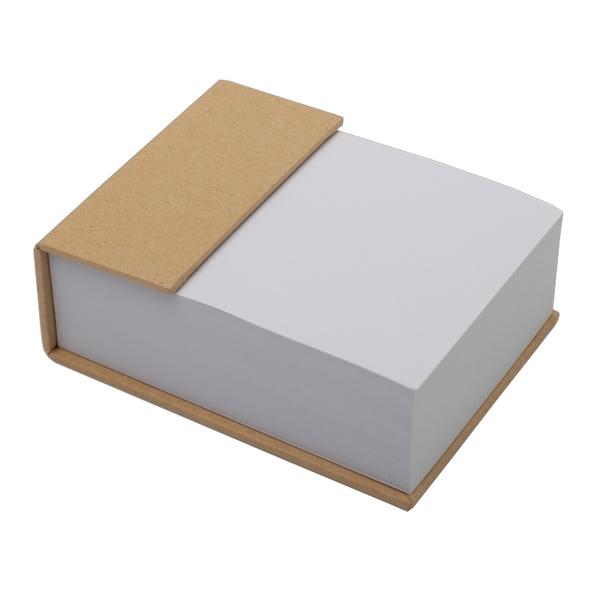Blok z karteczkami, beżowy