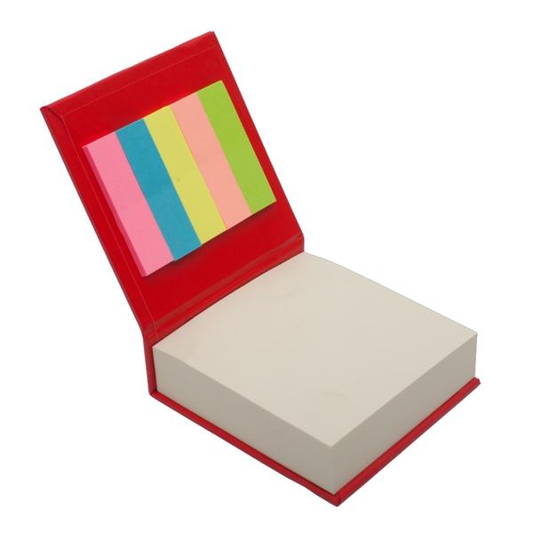 Blok z karteczkami, czarny