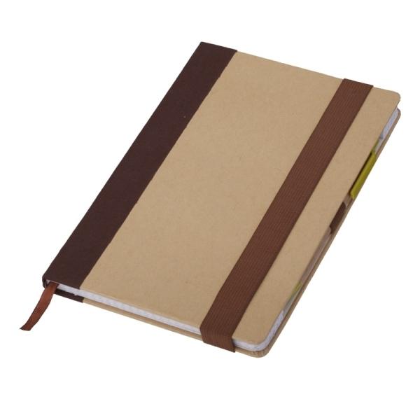 Notes 140x210/100k kratka Murcia, brązowy