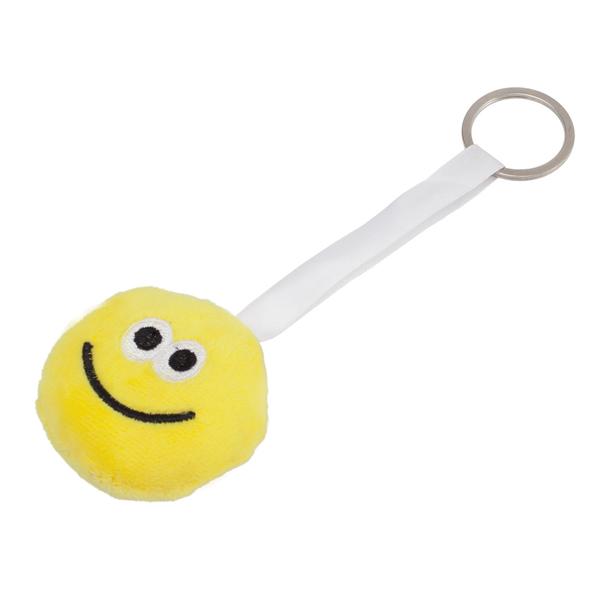 Zawieszka z uśmiechem Happy One, żółty