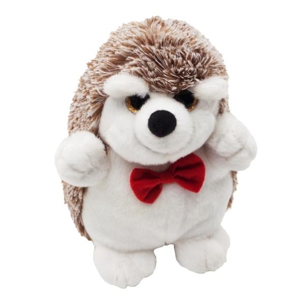 Maskotka Hedgehog, biały/brązowy