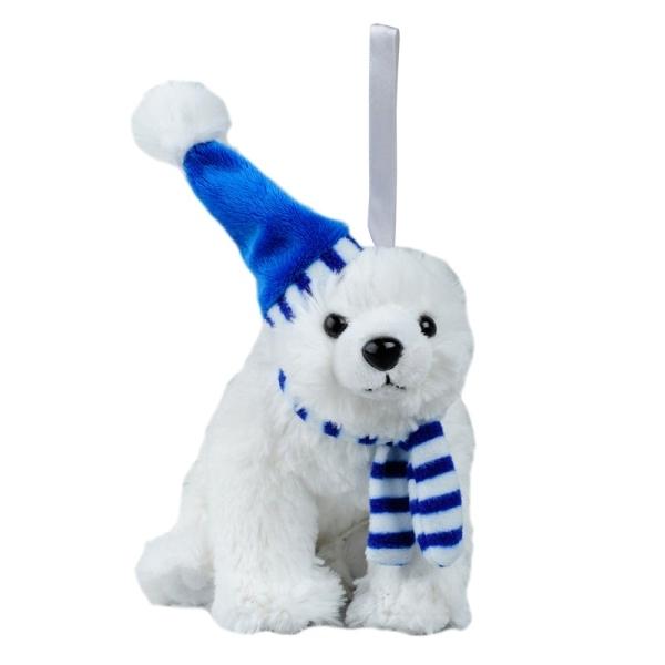 Maskotka Polar Bear, biały