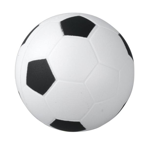 Antystresowa piłka, biały/czarny