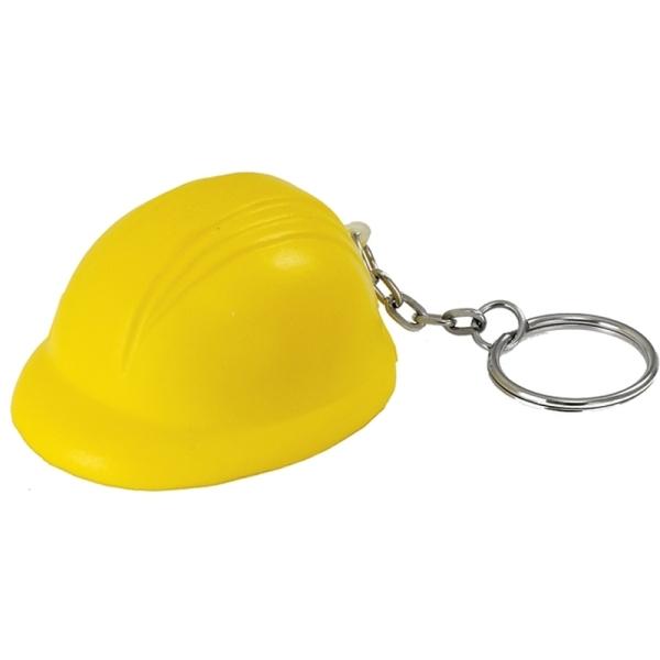 Brelok antystresowy Helmet, żółty