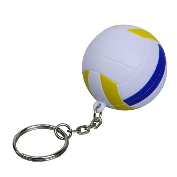 Brelok antystresowy Volley, biały
