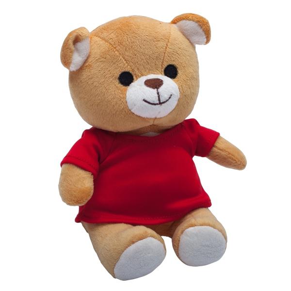 Maskotka Dressed Teddy, brązowy