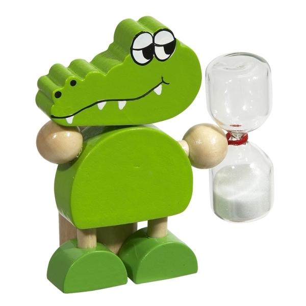 Stojak na szczoteczkę do zębów Croco, zielony