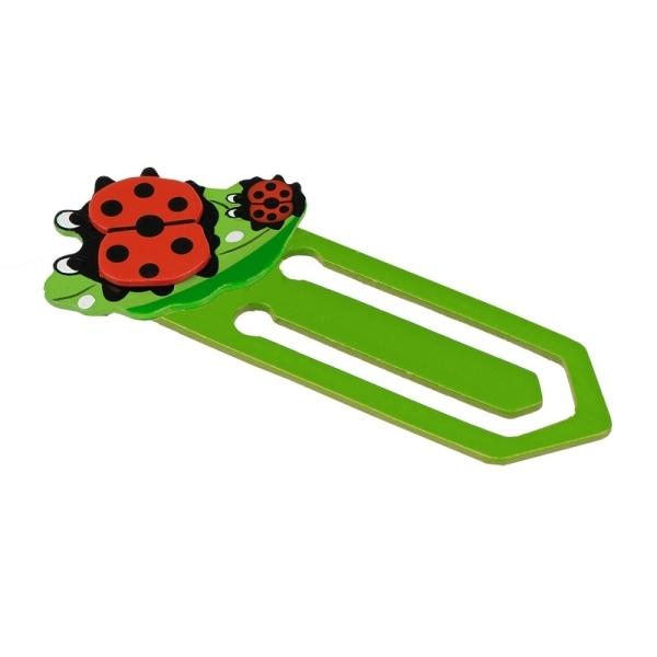 Zakładka Ladybird, zielony