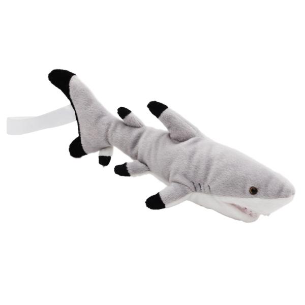 Maskotka Shark, szary