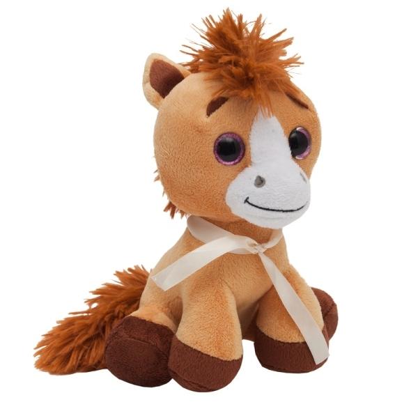 Maskotka Horse, brązowy