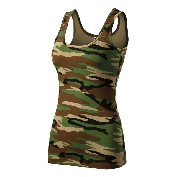 Triumph top damski camouflage