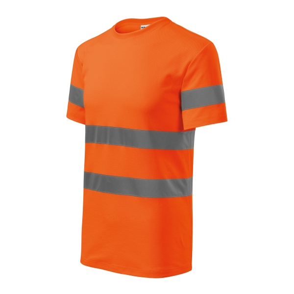 HV Protect koszulka unisex fluorescencyjny