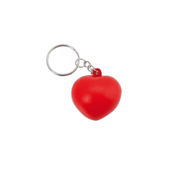 "Brelok do kluczy, antystres ""serce"""